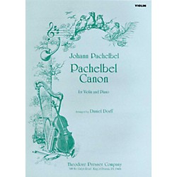 Carl Fischer Pachelbel Canon (for Violin and Piano) (114-40648)