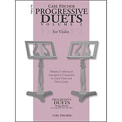 Carl Fischer Progressive Duets For Violin Volume 2: Advanced (BF40)