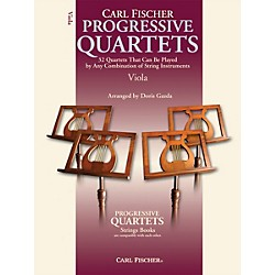 Carl Fischer Progressive Quartets for Strings- Viola (Book) (BF70)