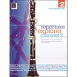 Carl Fischer Repertoir Explorer - Clarinet Vol.2 Book (UE021498)