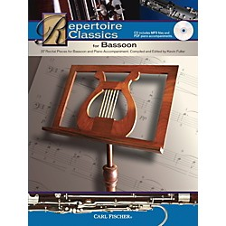 Carl Fischer Repertoire Classics for Bassoon (Bassoon & Piano Accompaniment) Book/CD (WF141)