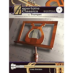 Carl Fischer Repertoire Classics for Trumpet (Book/ Data MP3 CD) (WF114)