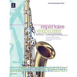 Carl Fischer Repetoire Explorer: Tenor Saxophone (Book + Sheet Music) (UE021612)