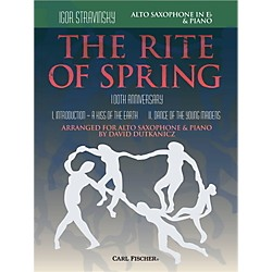 Carl Fischer Rite of Spring - Mvts. I & II for Alto Sax & Piano (Book + Sheet Music) (W2657)