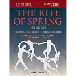 Carl Fischer Rite of Spring - Mvts. I & II for Clarinet & Piano (Book + Sheet Music) (W2656)