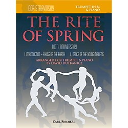 Carl Fischer Rite of Spring - Mvts. I & II for Trumpet & Piano (Book + Sheet Music) (W2658)