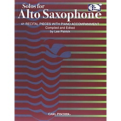 Carl Fischer Solos For Alto Saxophone Book (ATF145)