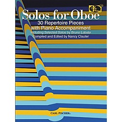 Carl Fischer Solos For Oboe Book (ATF146)