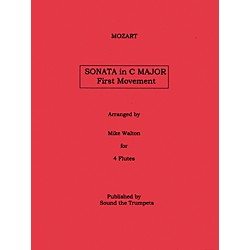 Carl Fischer Sonata In C Major Mvt.1 (Book + Sheet Music) (STT1077)