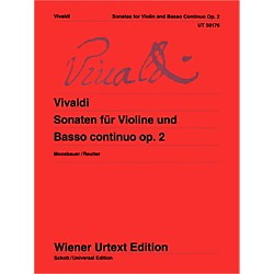 Carl Fischer Sonatas For Violin And Basso Continuo (Book + Sheet Music) (UT050176)