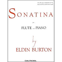 Carl Fischer Sonatina For Flute and Piano (O3643)