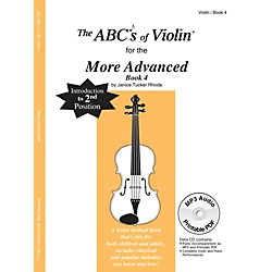 Carl Fischer The ABC's Of Violin for the More Advanced, Bk 4 (Book + CD) (ABC19X)