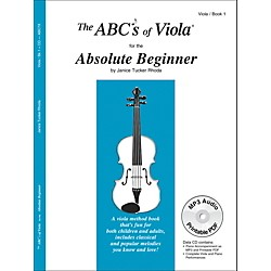 Carl Fischer The Abc's of Viola for the Absolute Beginner - Book 1 (Book/CD) (ABC7X)