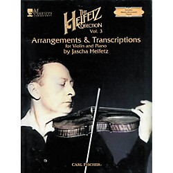 Carl Fischer The Heifetz Collection Vol. 3: Arrangements & Transcriptions (ATF142)