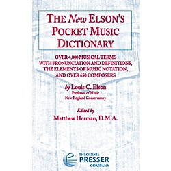 Carl Fischer The New Elson's Pocket Music Dictionary (417-41039)