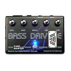 Carl Martin Bass Drive Tube Pre Amp Bass Effects Pedal (BASS DRIVE)
