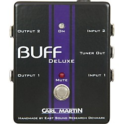 Carl Martin Buff Deluxe Boost Guitar Effects Pedal (BuffDeluxe)