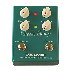 Carl Martin Classic Flange Version II Guitar Effects Pedal (CLSCFLNG V2)