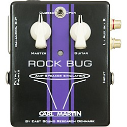Carl Martin Rock Bug Headphone Guitar Amp and Speaker Simulator (RockBug)