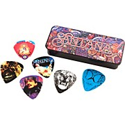 Dunlop Carlos Santana Pick Tin with 6 Picks