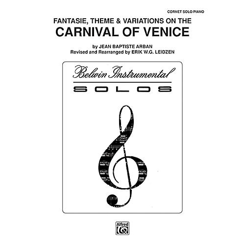 Alfred Carnival of Venice: Fantasie, Theme & Variations for Trumpet By Arban arr. Erik W.G. Leidzen Book-thumbnail