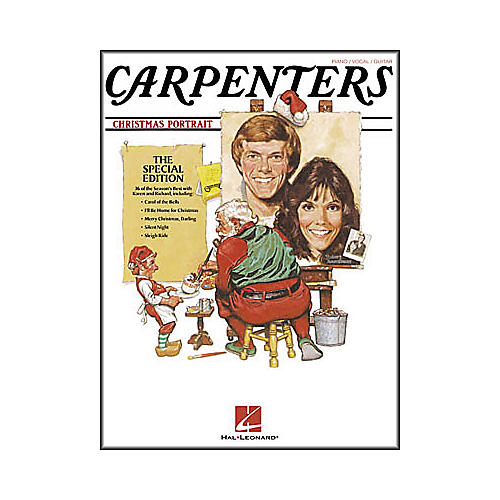 Hal Leonard Carpenters - Christmas Portrait Piano, Vocal, Guitar Songbook-thumbnail