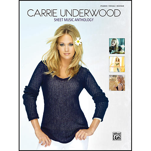 Alfred Carrie Underwood - Sheet Music Anthology - Piano/Vocal/Chords-thumbnail
