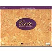 Hal Leonard Carta 25 Scorepad 14.75X11.5, 40 Sheet, 14 Stave Carta Manuscript