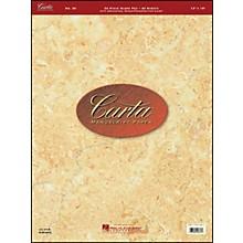 Hal Leonard Carta Manuscript 20 Scorepad 12 X 16, 40 Sheets, 24 Staves