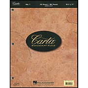 Hal Leonard Carta Manuscript Paper # 1 - Looseleaf, 8.5 X 11, 96 Pages, 10 Stave
