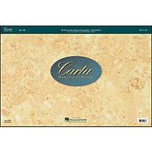 Hal Leonard Carta Scorepad 18X12, 40 Sheet, 20 Stave, Big Band Carta Manuscript