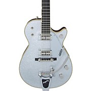 Gretsch Guitars CaseG6129T-59 Vintage Select 59 Silver Jet with Bigsby