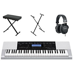 Casio CTK-4200 61-Key Portable Keyboard  with Bench, Stand, & Headphones (CASIOCTK4200K4)