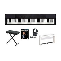 Casio Privia PX-150 Keyboard Package with 3 Pedal Stand (CASIOPX150A)