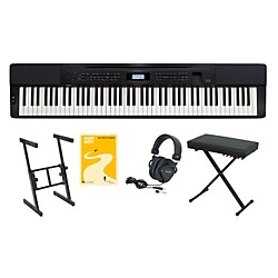Casio Privia PX-350 Keyboard Package 1 (CASIOPX350KP1)