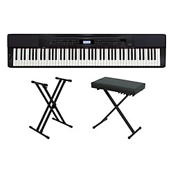 Casio Privia PX-350 Keyboard Package 2 (CASIOPX350KP2)
