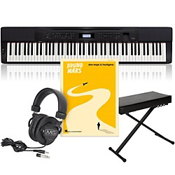 Casio Privia PX-350 Keyboard Package with 3 Pedal Stand (CASIOPX350A)