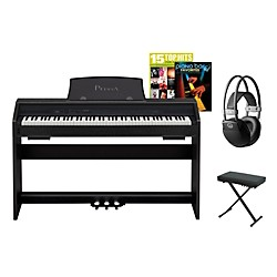 Casio Privia PX-750 Digital Piano Package (CASIOPX750BDPP)