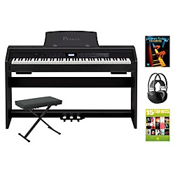 Casio Privia PX-780 Digital Piano Package (CASIOPX780DPPA)