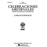 Associated Celebraciones Medievales (Vocal Score) SATB Score composed by Carlos Surinach