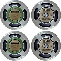 Celestion Blues/Rock 4x12 Speaker Set (KIT-582007)