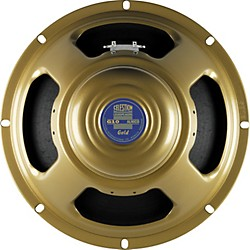 "Celestion G10 Gold 40W, 10"" Alnico Guitar Speaker (T5671BWD)"