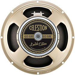 "Celestion G12-35XC 90th Anniversary Limited Edition 12"" 35w 8ohm Replacement Guitar Speaker (T5924BWD)"