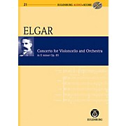 Eulenburg Cello Concerto in E Minor Op. 85 Eulenberg Audio plus Score Series Composed by Edward Elgar