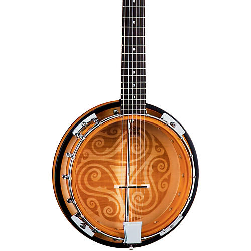 Luna Guitars Celtic 6-String Banjo-thumbnail
