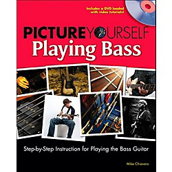 Cengage Learning Picture Yourself Playing Bass (9781598635089)