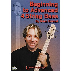 Centerstream Publishing Beginning to Advanced 4-String Bass (DVD) (374)