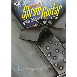 Centerstream Publishing SECRETS OF SHRED GUITAR DVD (1177)