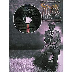 Centerstream Publishing Sonny Terry Licks For Blues Harmonica (Book/CD) (178)