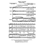 Transcontinental Music Chad Gadyo (Passover Song) SATB composed by Hugo Adler